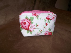 """Heirloom roses""-bag"