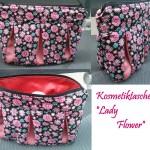 """Kosmetiktasche """"Lady Flower"""""""