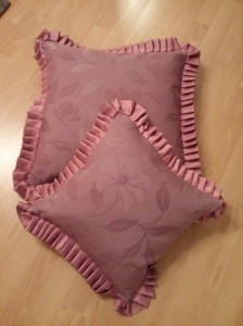 Ruffly Cushion