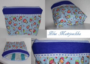 Blue Matrjoschka-Bag