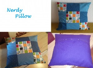 Nerdy Pillow