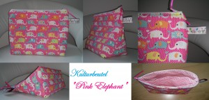 Collage Pink Elephant