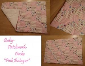 Babydecke Pink Batagur