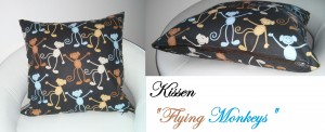 Kissen Flying Monkeys