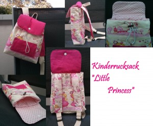 Kinderrucksack Little Princess