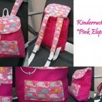 "Kinderrucksack ""Pink Elephant"""