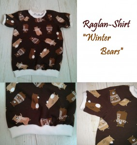 Raglan-Shirt Winter Bears
