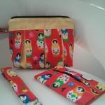 Red Matrjoschka-Bag Set